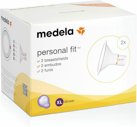 Medela Personal Fit Breast Shield Optimise the Milk Flow - Pack of 2 - Size XL