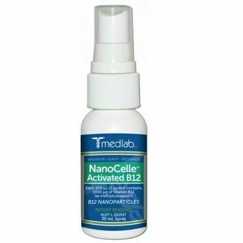 MEDLAB Nanocelle Activated Vitamin B12 Spray 30ml