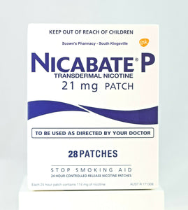 Nicabate P Transdermal Nicotine Patch 21mg 28 Patches