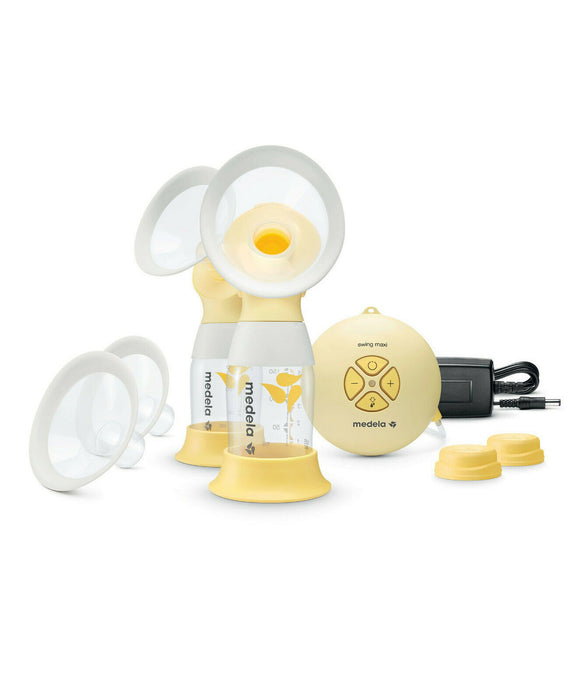 Medela Swing Maxi Electric Double Breast Portable Pump 2 Phase Expression