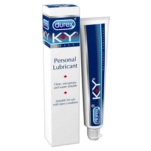 Durex K-Y Personal Lubricant 50g - Ideal For Use With Condoms Non Greasy