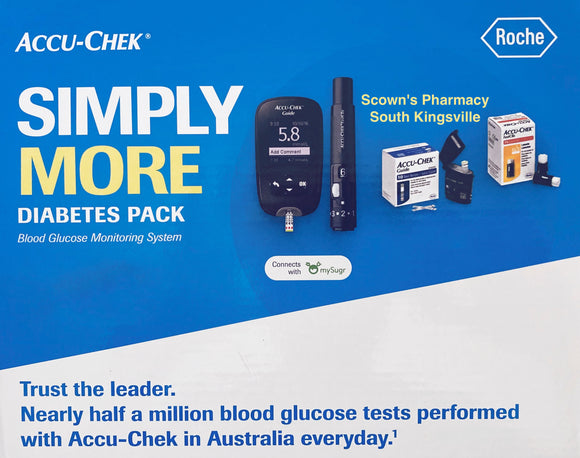 Accu-Chek Simply More Diabetes Pack - $116 AUD of Value