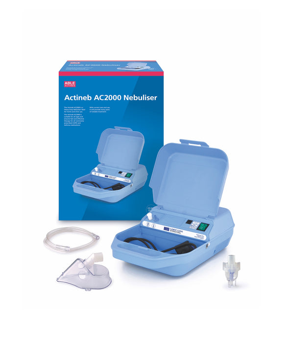 Able Asthma Actineb AC2000 Heavy Duty Nebulizer
