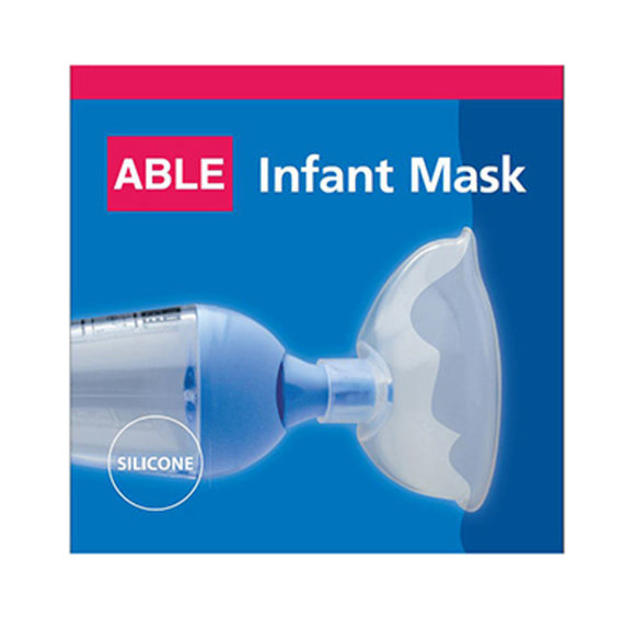 Able Spacer Anti-Bacterial with Infant 0-4yo Small Mask Silver Ion