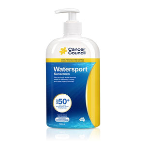 Cancer Council Watersport Sunscreen SPF50+ Pump 500ml