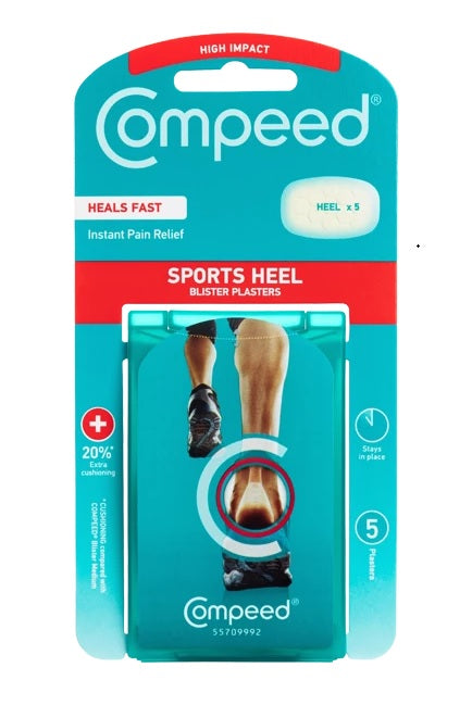 Compeed Sports Heel Blister Plasters 5 Pack