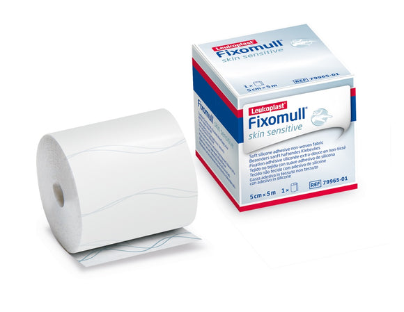 Fixomull Skin Sensitive Gentle Touch 5cm x 5m