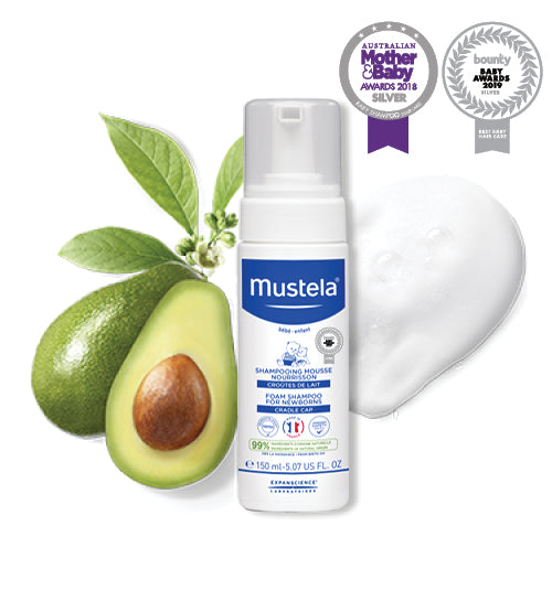 Mustela Foam Shampoo For Newborns 150g