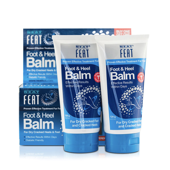 Neat Feat Heel Balm 2 for 1 - 120g