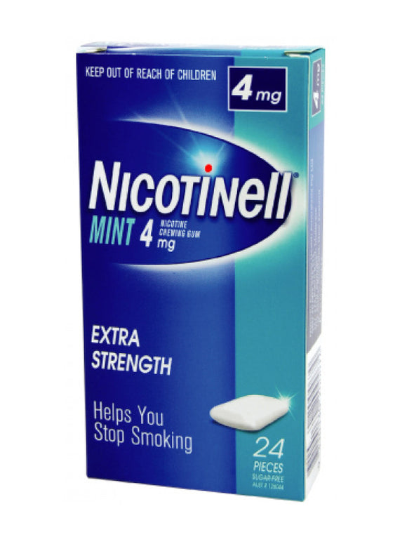 Nicotinell® Mint Chewing Gum 4mg 24 Pack