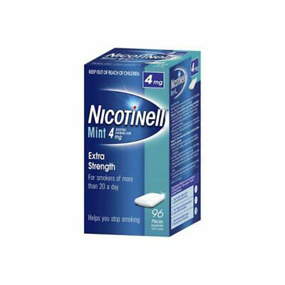 Nicotinell® Mint Chewing Gum 4mg 96 Pack