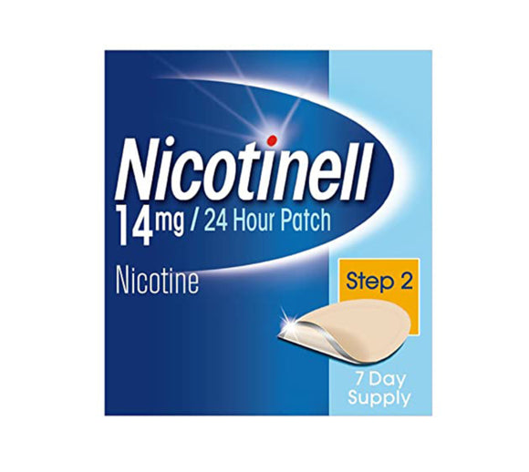 Nicotinell® Patches 14mg Step 2 - 7 Patches