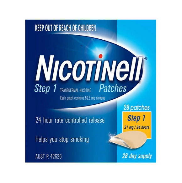 Nicotinell® Patches 21mg Step 1 - 28 Patches