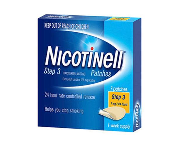 Nicotinell® Patches 7mg Step 3 - 7 Patches