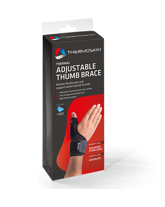 Thermoskin Adjustable Thumb Brace - One Size
