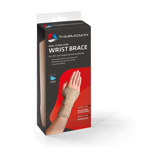 Thermoskin Wrist Hand Brace Right Size Small