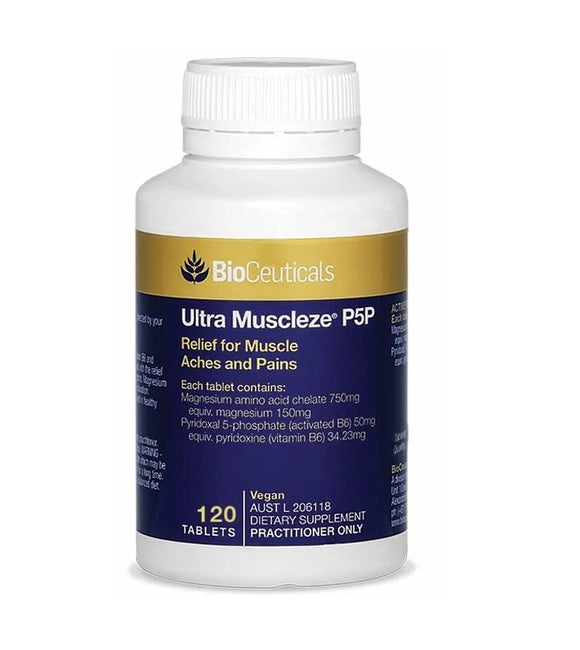 BioCeuticals Ultra Muscleze P5P 120 Tablet