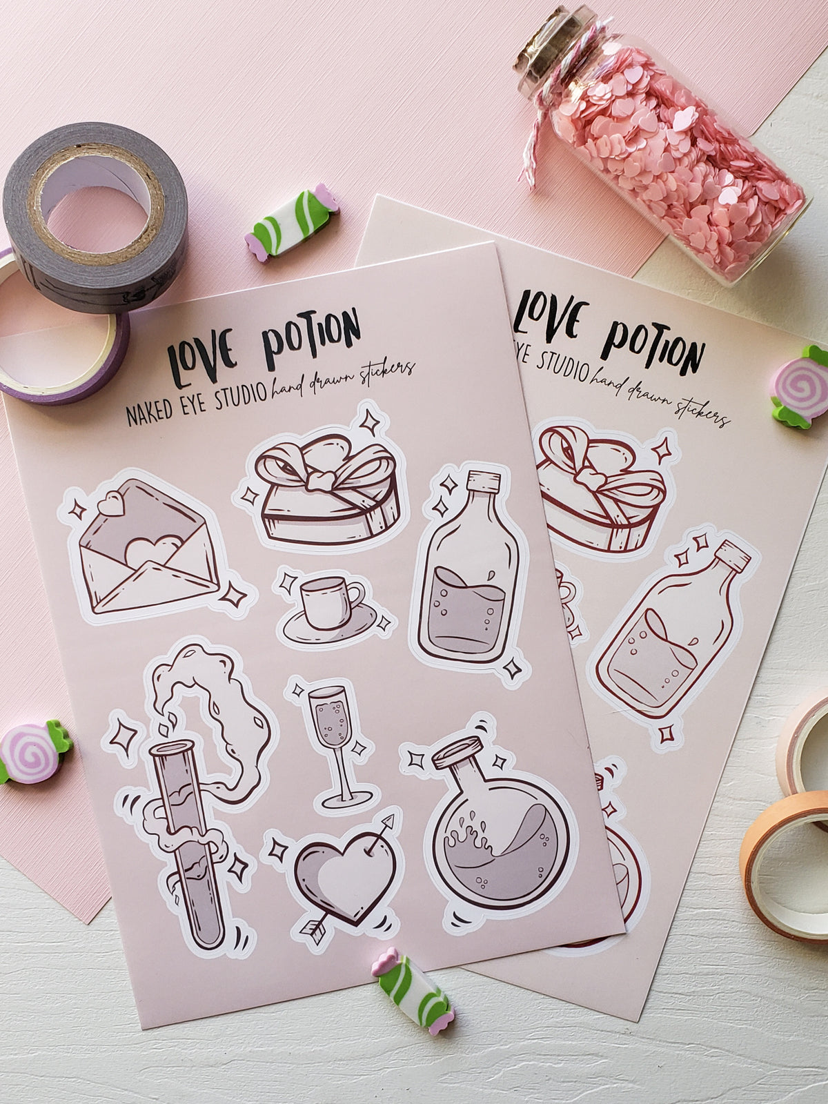 Love Potion Sticker Sheet