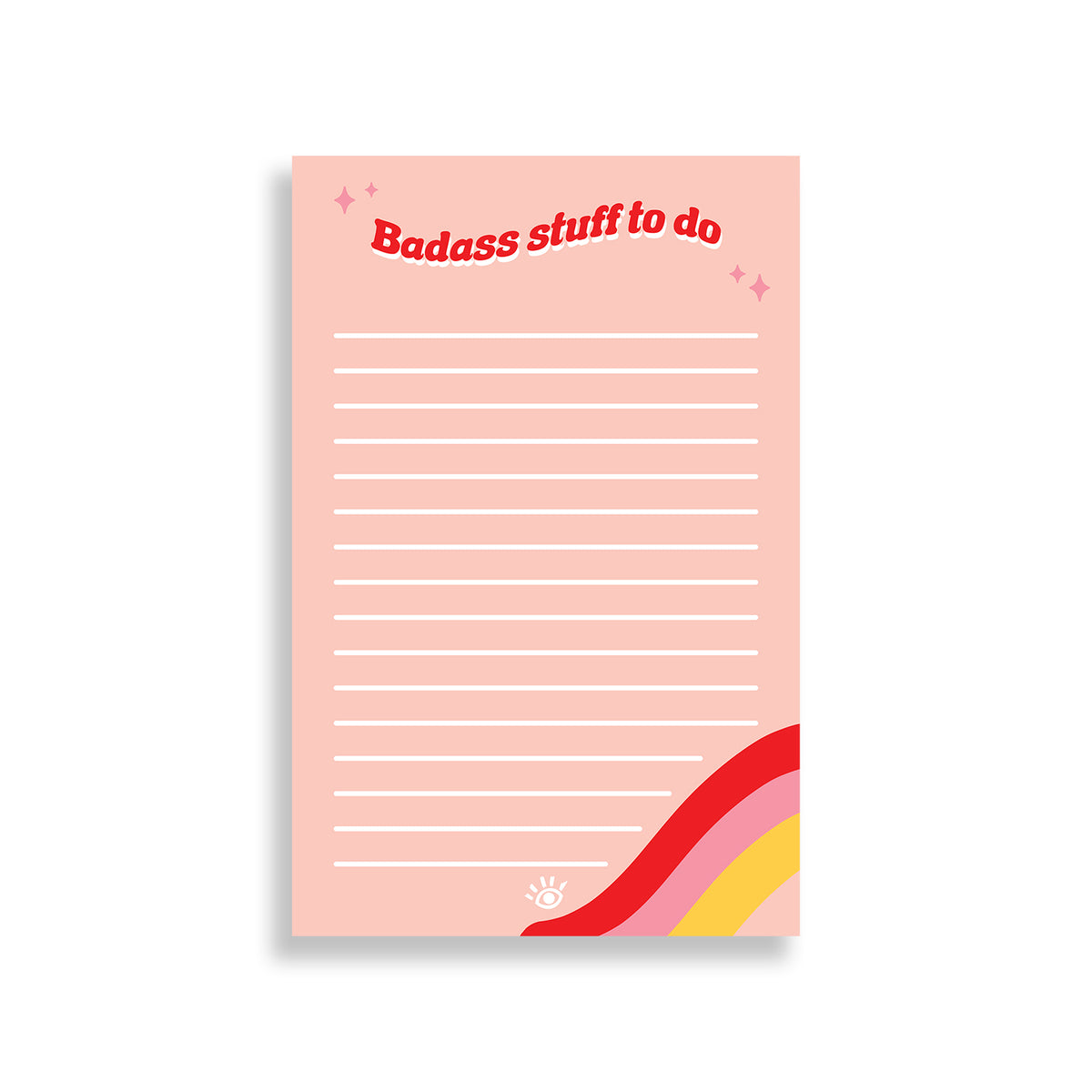 Badass Things to Do Notepad