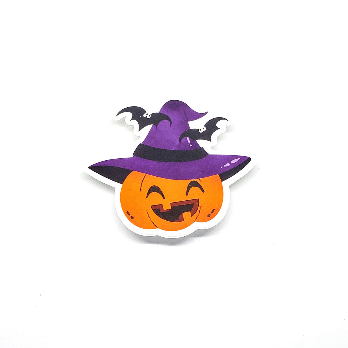Cute Pumpkin Halloween Sticker