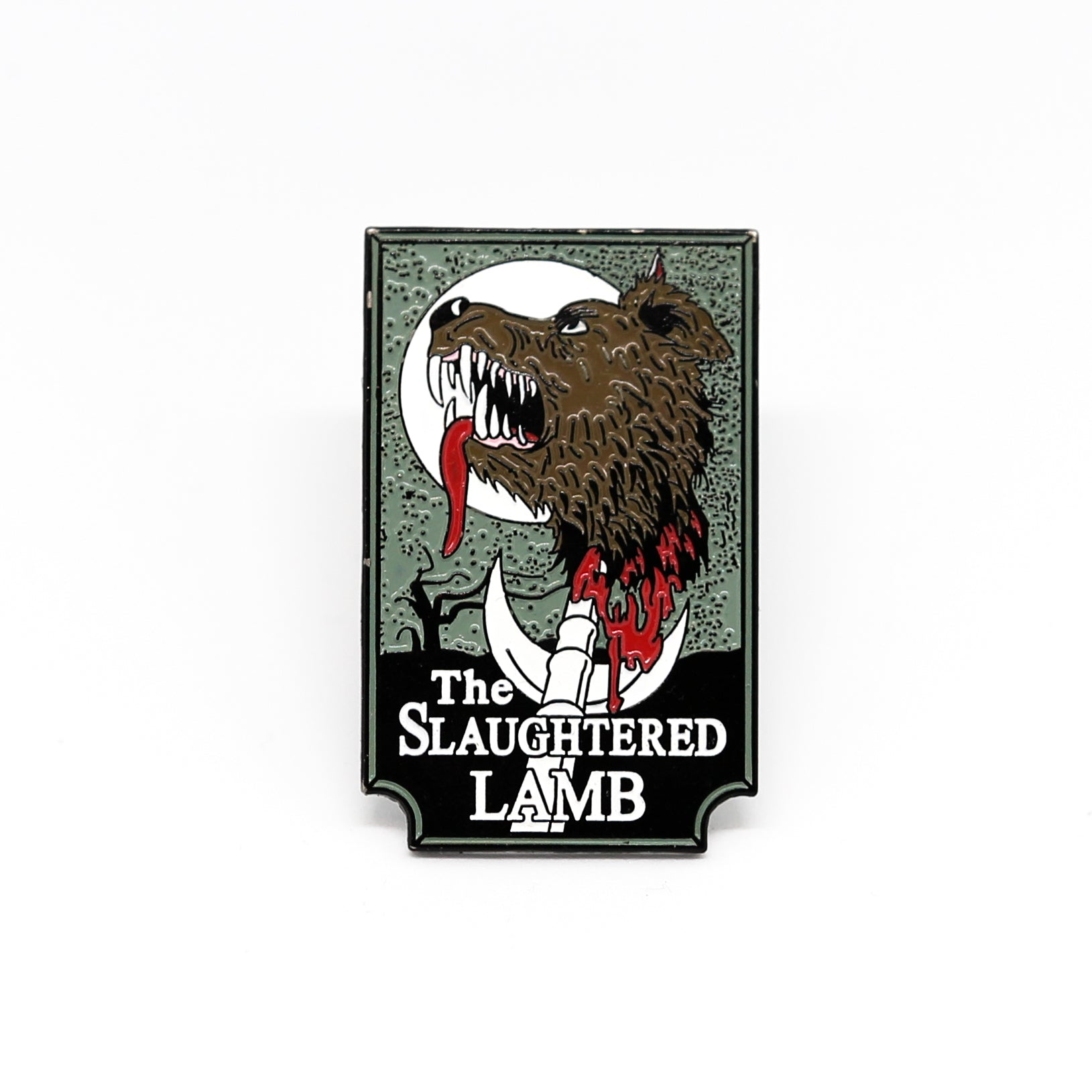 The Slaughtered Lamb Enamel Pin