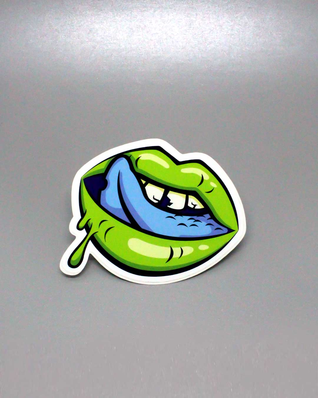 Zombie Lips Sticker