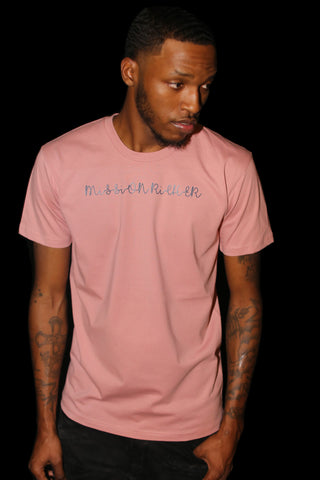 """Signature"" T-shirt in Salmon"