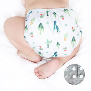 Load image into Gallery viewer, OS Nappy Cover – Cactus