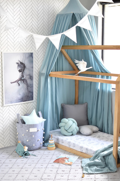 Snuggle Hunny Kids | Wild Fern I Fitted Cot Sheet