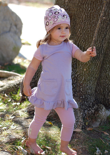 L'oved Baby | Organic Leggings in Mauve
