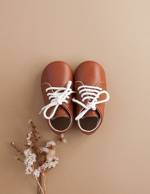 Karibou |  Leather Unisex KariBoots - Hazelnut