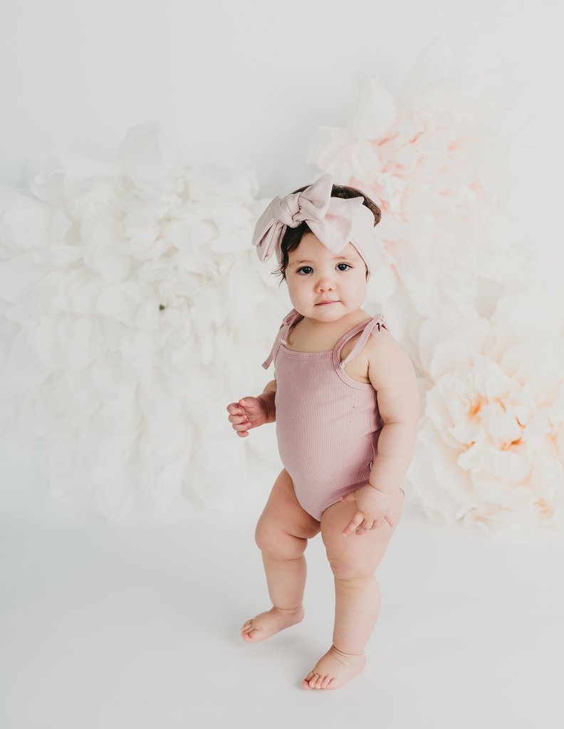 Karibou | Sienna Cotton Sunsuit In Blush