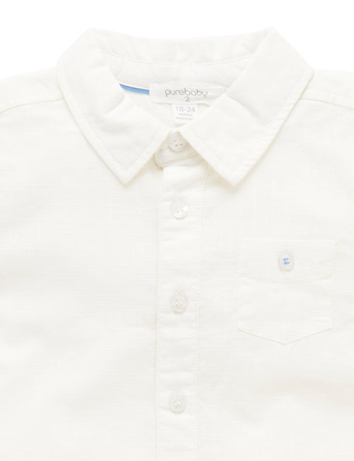Purebaby | Shell Summer Shirt
