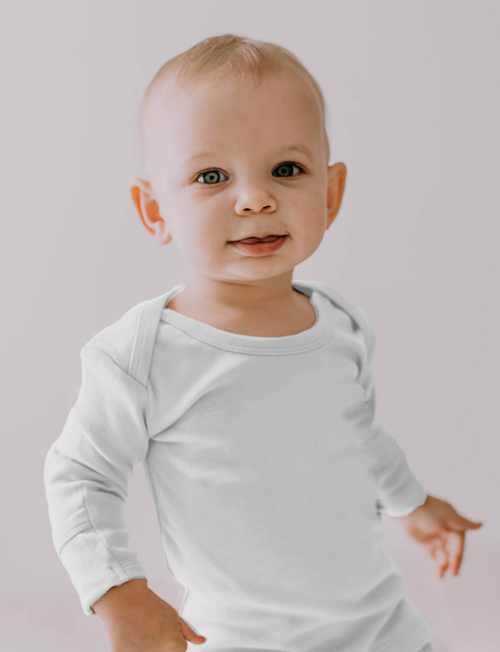 L'oved Baby | Organic L/Sleeve Shirt in White
