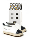 Pretty Brave | ESPADRILLE White with Black Toe