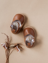 Karibou | Kora Genuine Leather Sandals - Chestnut