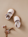 Karibou | Kora Genuine Leather Sandals - Ballet Pink