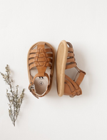 Karibou | Aella Genuine Leather Sandals - Earth