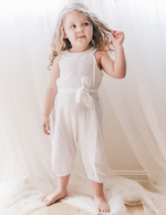 Enchanted Label | Muslin Jumpsuit - White