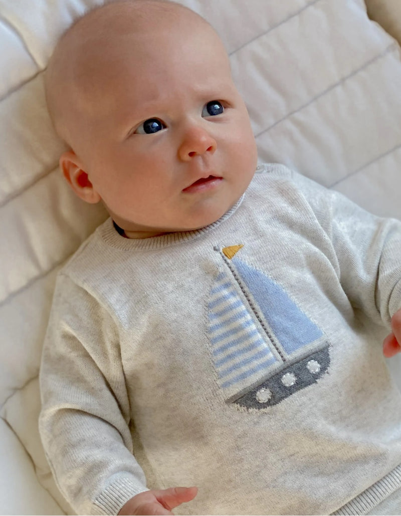 Purebaby | Seaside Jumper
