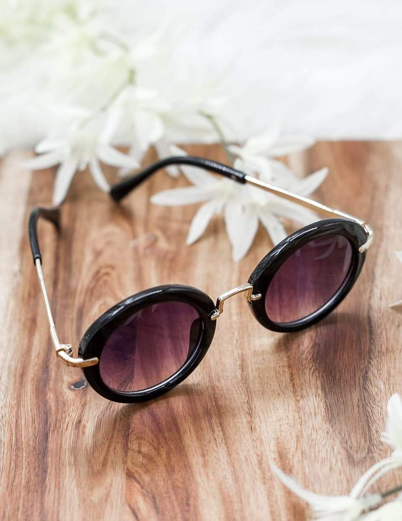 Karibou | Olivia Sunglasses In Jet Black