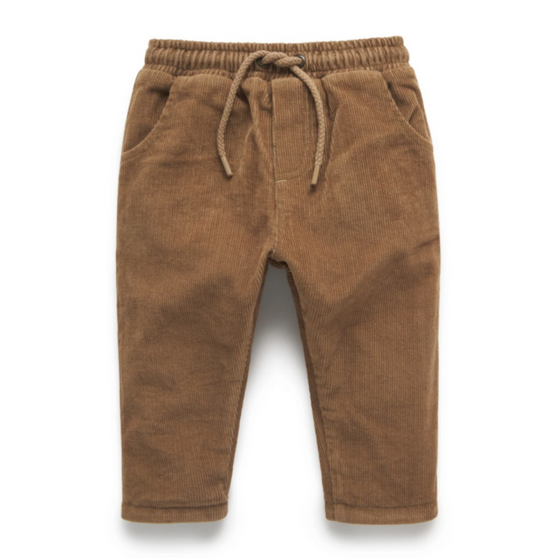 Purebaby |  Honey Lined Cord Pant