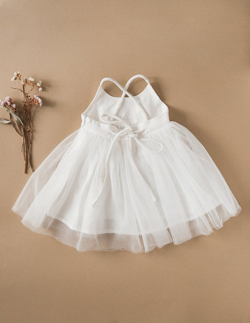 Karibou | Willa Linen Tutu Dress - White Magic