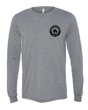 Load image into Gallery viewer, Gray long sleeve t featuring the Milk Room Brewing Logo