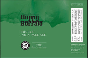 Hoppy Buffalo Double IPA 4 pack 16oz cans
