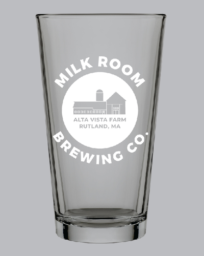 Milk Room Brewing Pint Glass