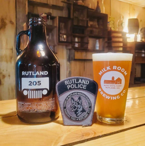 Rutland 205 Commemorative Growler (32oz-filled) $15 - $17