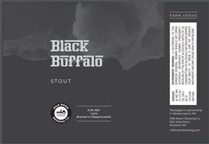 Black Buffalo Stout 4 pack 16oz cans