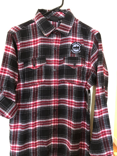 Flannel Shirt-Red