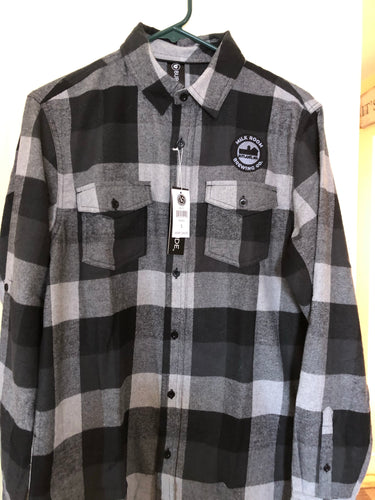 Flannel Shirt-Gray